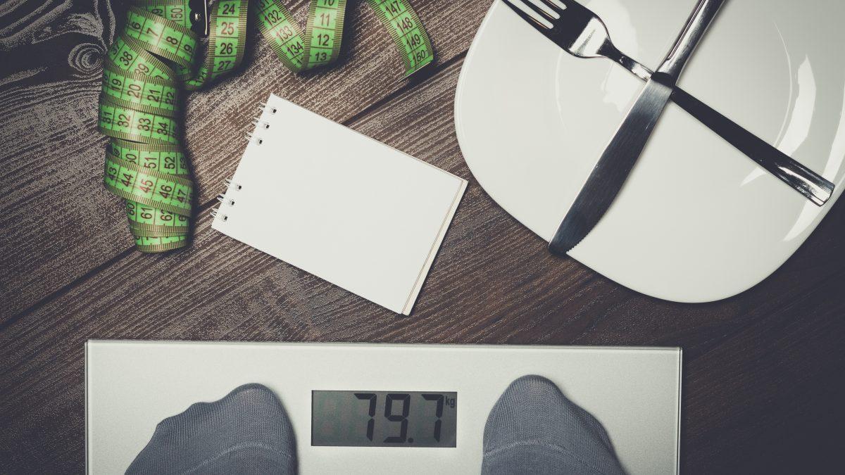 afvallen wat niet te eten